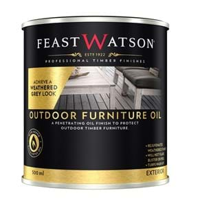 Outdoor Furniture Oil Weathered Grey 500Ml