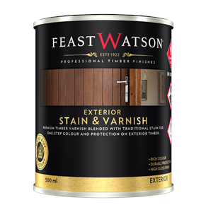 Exterior Stain And Varnish 500Ml