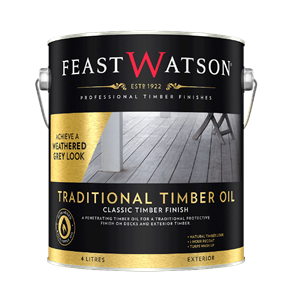 Traditional Timber Oil Weathered 4L